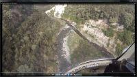 "FIGURE 1 Video image of ""Cliff erosion"" from the upper Tutaekuri catchment."