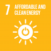 Goal 7: Affordable & clean energy