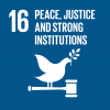 Goal 16: Peace, justice & strong institutions