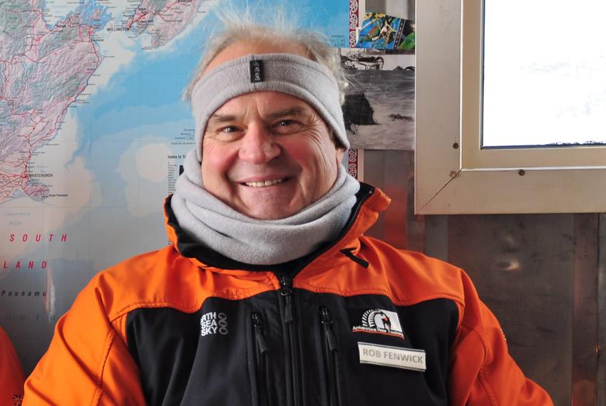 Rob in Antarctica