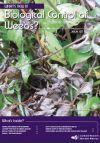 Tradescantia stem beetle damage.