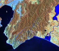 Original Landsat image