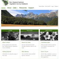NVS website homepage.