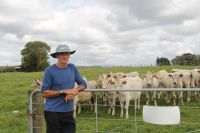 Mike Barton made his farm available for research purposes to help make New Zealand more prosperous.