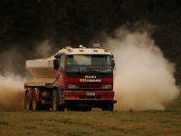 Fertiliser truck. Image - John Hunt