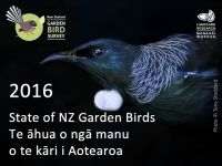 State of NZ's Garden Birds - cover