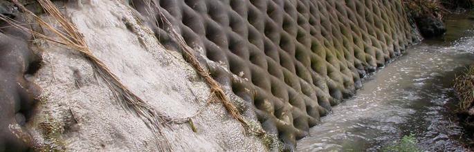 Concrete wash discharge. Image - Stephen Moore