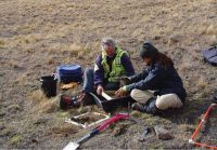 Soil C monitoring in the South Island High Country.