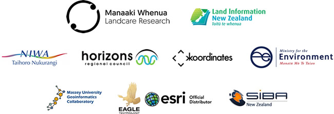Open Geospatial Consortium sponsor logos