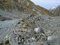 Moraine in the Havelock River, upper Rangitata Valley (Rowan Buxton)