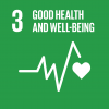 Goal 3: Good health & well-being