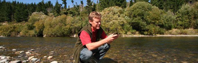 Monitoring water quality in the Motueka River