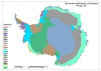 Figure 1. Environmental Domains of Antarctica classification