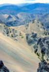 Ancient scree overlain with young scree, Awatere Valley (Peter Williams)