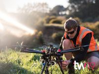 Achieving results: lasers & drones