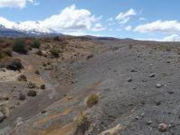 Lahar deposit on eastern Mt Ruapehu, central Volcanic Plateau (Rowan Buxton)