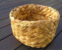Kete made by Riria Smith. Image – Geoff Walls