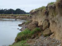 Erosion bank